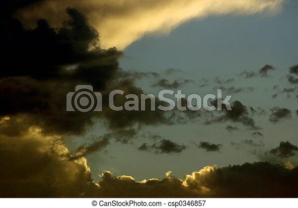 Storm Clouds - csp0346857