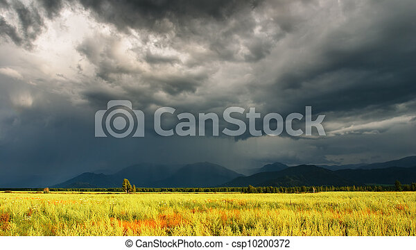 Storm clouds - csp10200372