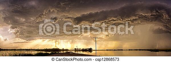 Storm Clouds - csp12868573