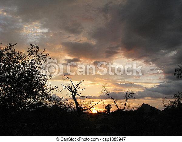 Storm Clouds - csp1383947