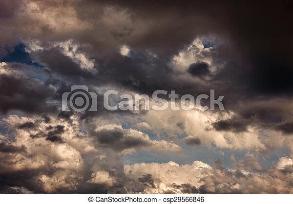 Storm Clouds - csp29566846