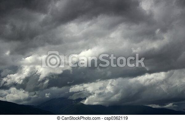 Storm Clouds - csp0362119