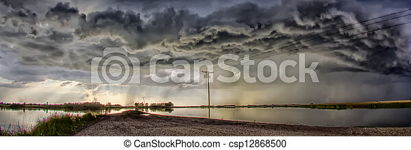 Storm Clouds - csp12868500