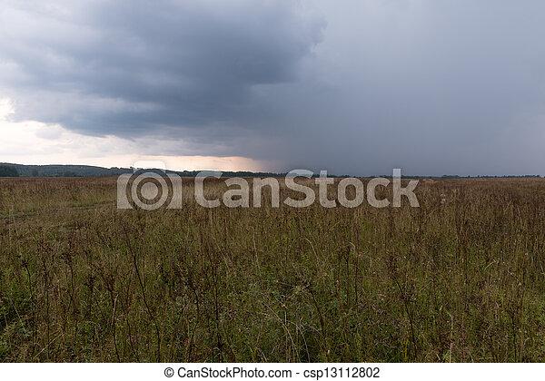 Storm clouds - csp13112802