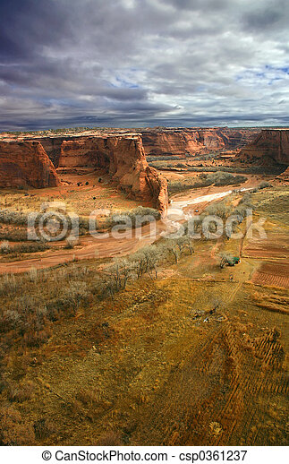 Stormy Canyon - csp0361237