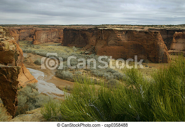Stormy Canyon - csp0358488