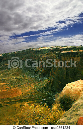 Stormy Canyon - csp0361234