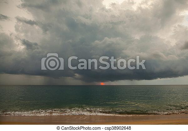 Stormy weather - csp38902648