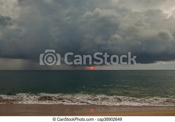 Stormy weather - csp38902649