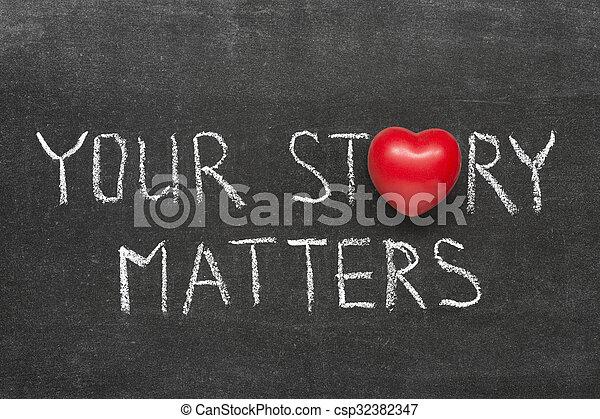 story matters - csp32382347