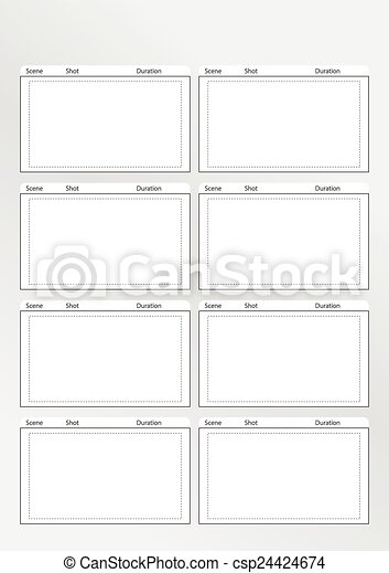 Photography Storyboard Template Storyboard Template Really Useful