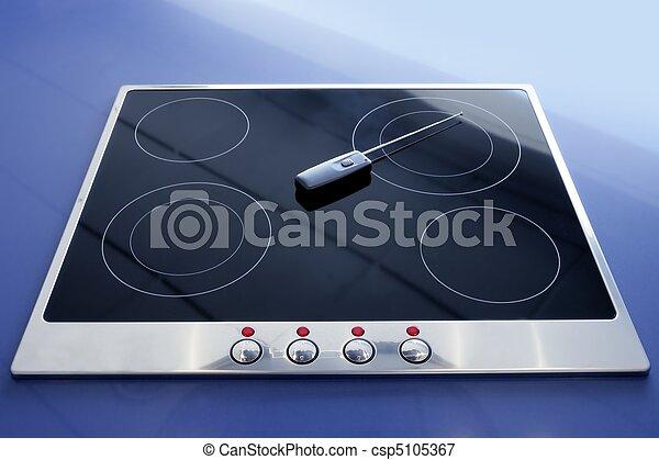 Beautiful Stove Vitroceramic Electric Kitchen Wireless   Csp5105367
