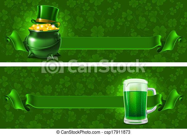 St.Patrick's Day background - csp17911873