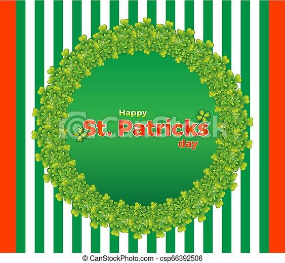 St.Patrick's Day coaster - csp66392506
