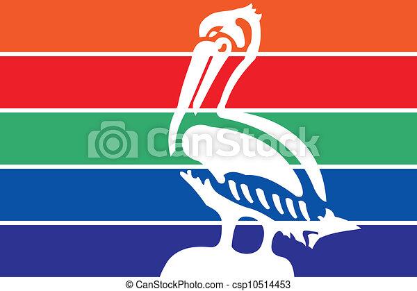Stpetersburg city flag - csp10514453