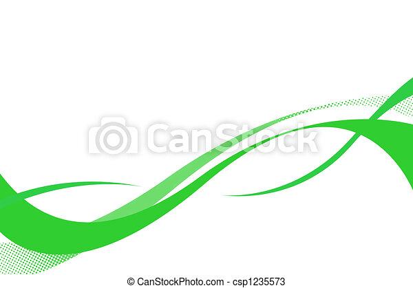 Schwankende Kurven - csp1235573