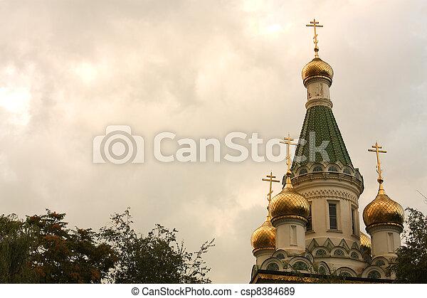str., sofia, nikolay's, tempel - csp8384689