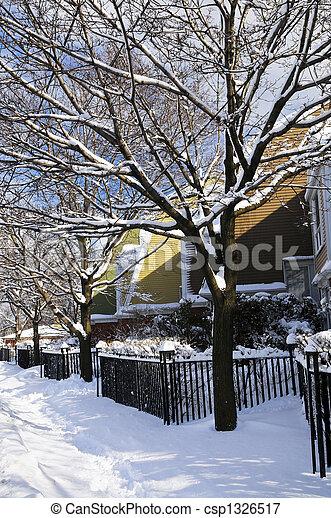 straße, winter - csp1326517