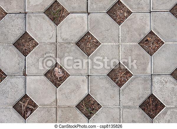 strada, tiles., fondo - csp8135826