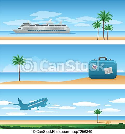 strand, bakgrund - csp7256340