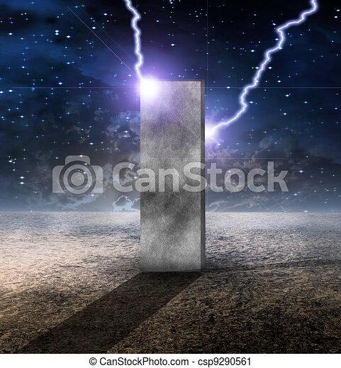 Strange Monolith on Lifeless Planet - csp9290561