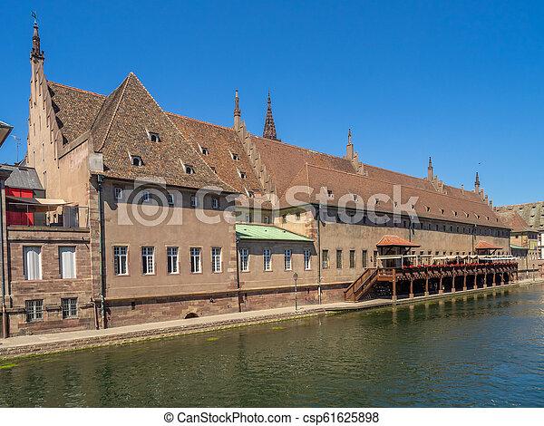 Strasbourg customs house - csp61625898