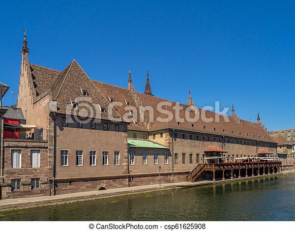 Strasbourg customs house - csp61625908