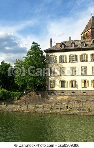 strasbourg scenery - csp0369306