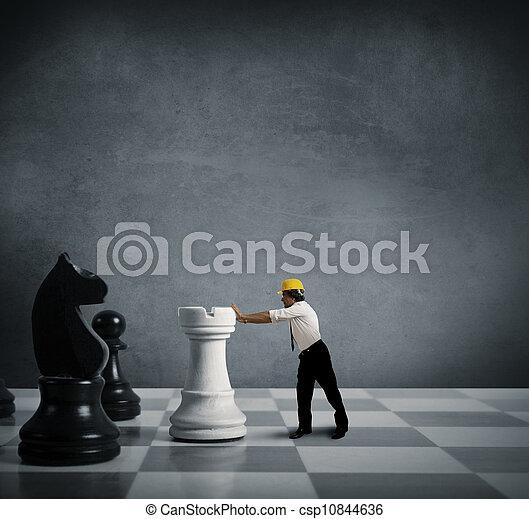 strategia affari - csp10844636