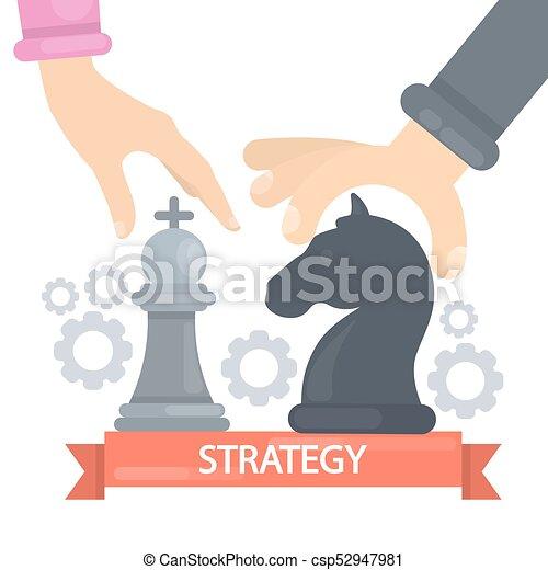 Strategy concept illustration. - csp52947981