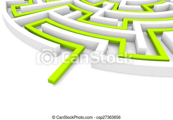 strategy concept - csp27363656