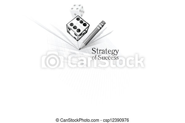 Strategy for success - csp12390976
