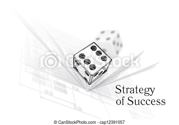 Strategy for success - csp12391057