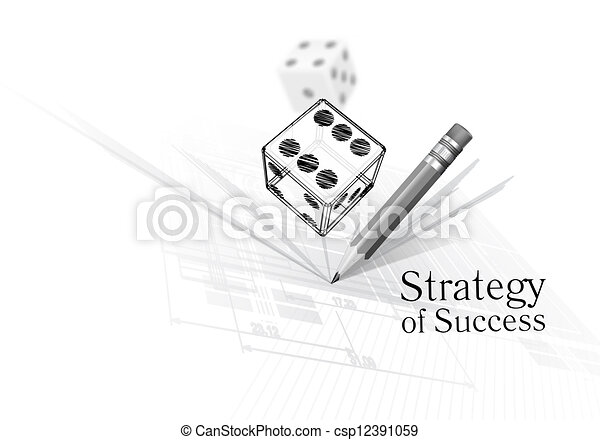 Strategy for success - csp12391059