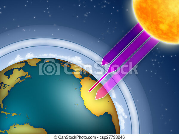 strato ozono - csp27733246
