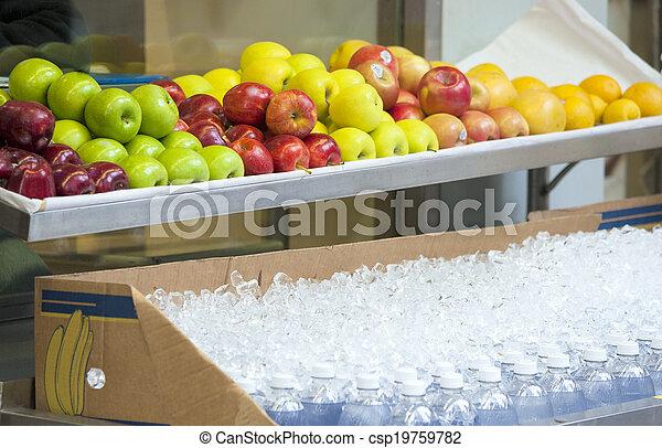 strava, čelit, organický, venku - csp19759782