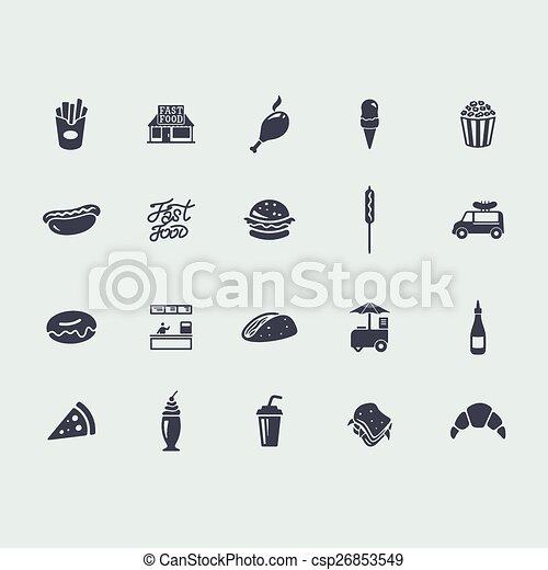 strava, dát, pevně, ikona - csp26853549