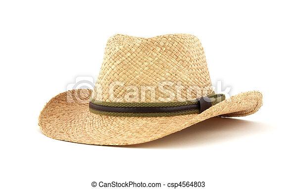 Straw hat - csp4564803