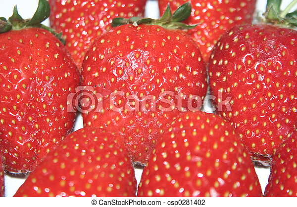 strawberries 2 - csp0281402