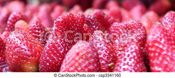 strawberries 2 - csp3341160