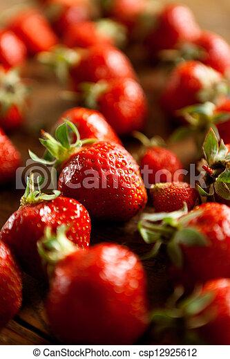 Strawberries - csp12925612