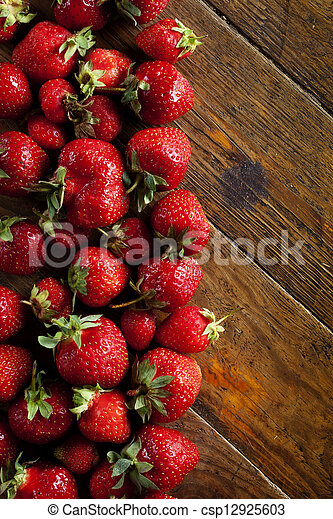 Strawberries - csp12925603