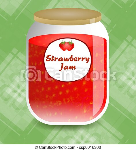 Strawberry Jam - csp0016308