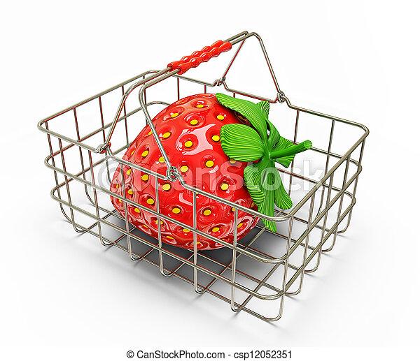 strawberry - csp12052351