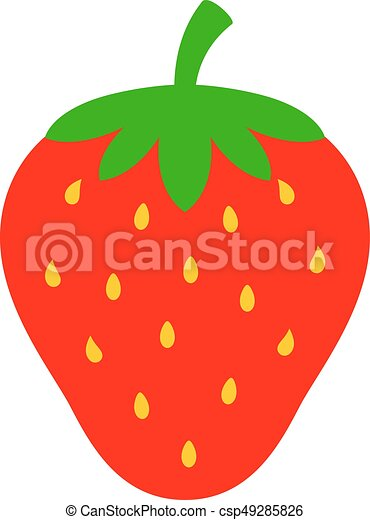 strawberry vector icon illustration vector illustration search rh canstockphoto com strawberry vector png strawberry vector freepik