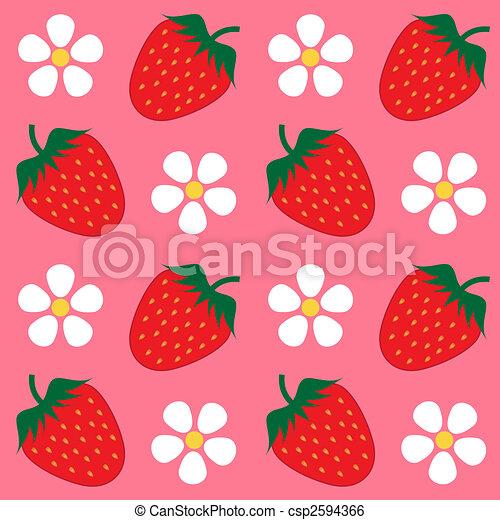 Strawberry Wallpaper Background
