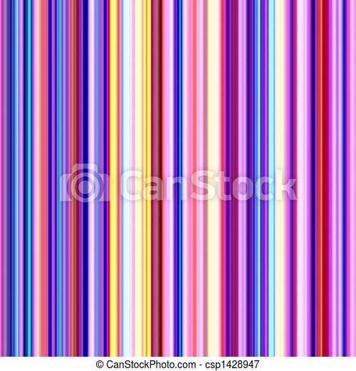 Streaks Of Multicolored Light