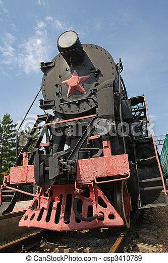 stream locomotive - csp3410789