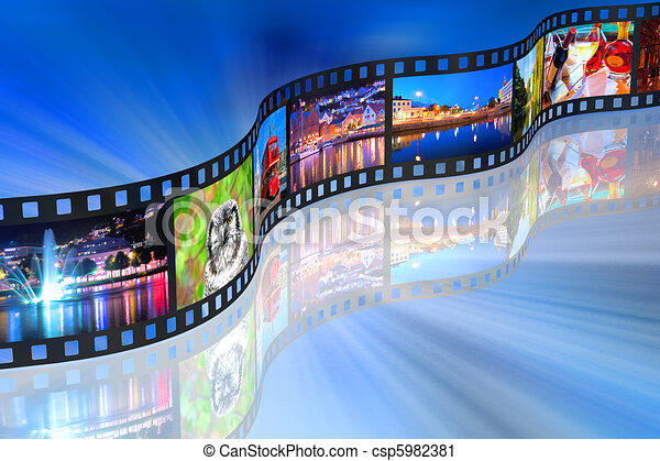 Streaming media concept - csp5982381