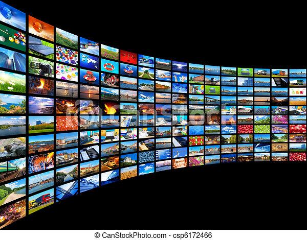 Streaming media concept - csp6172466